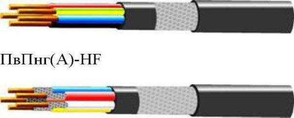 Кабель ПвПнг-HF