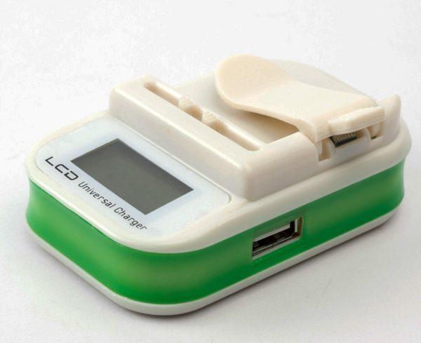 Универсальное аккумуляторное портативное зарядное устройство «Лягушка» с дисплеем