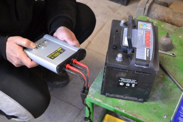 Зарядка гелевой батареи