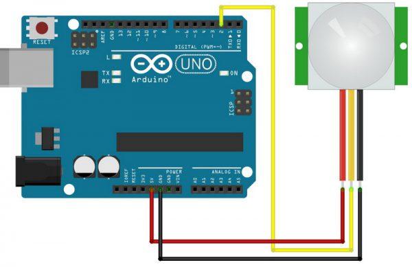 Датчик движения на Arduino