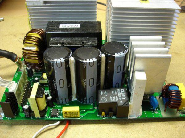 Применение конденсаторов