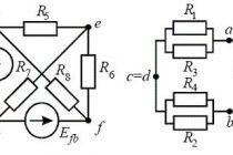 Пример сложных электрических цепей