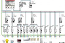 Пример построения схемы защиты сети в жилом доме по селективному принципу