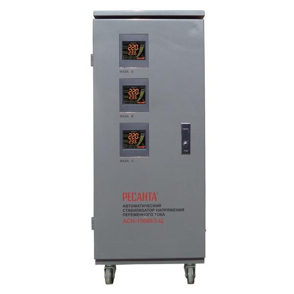 Ресанта АСН-15000/3-Ц для трёхфазной цепи