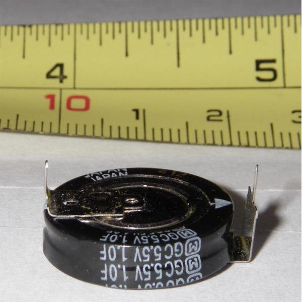 Ионистор с характеристикой в 1F