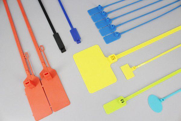 Бандажи с площадками для маркировки пучков