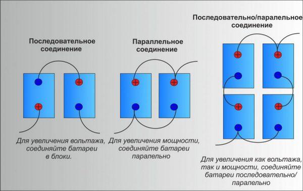 Схема подключения АКБ