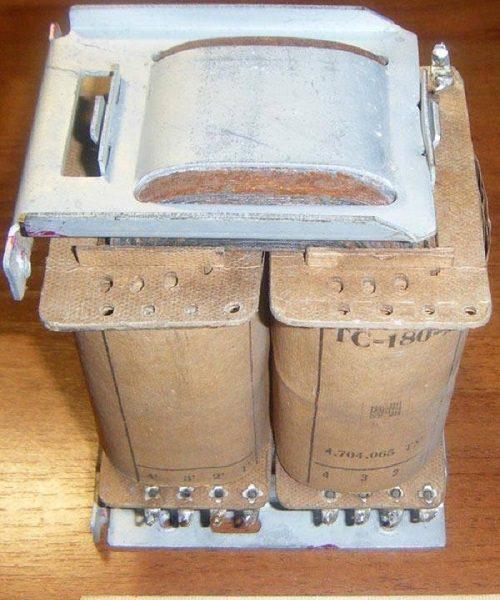 Внешний вид трансформатора ТС-180