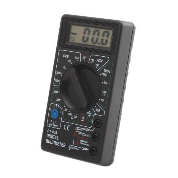 Прибор для измерения напряжения в АКБ – мультиметр