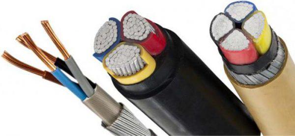 Различные виды кабелей ААШв