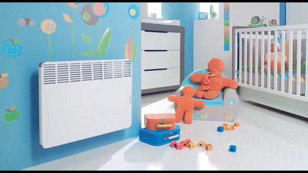 Тепловые конверторы могут без ограничений эксплуатироваться в детских комнатах
