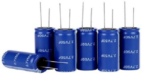 Типовые суперконденсаторы