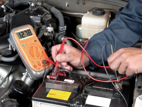 Проверка электрической цепи с источником постоянного тока