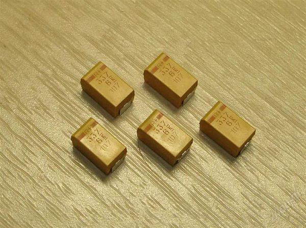 Танталовые SMD конденсаторы