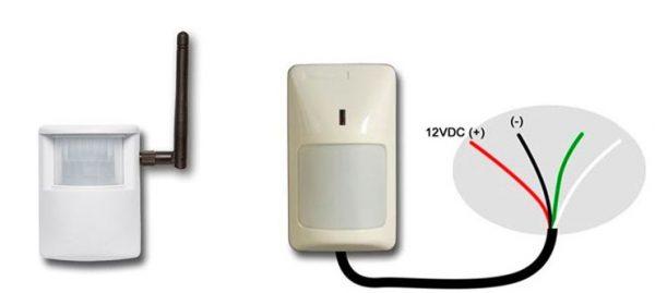 ИК-датчики проводные и беспроводные