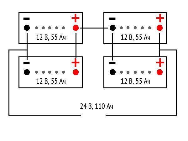 Комбинация последовательного и параллельного соединения