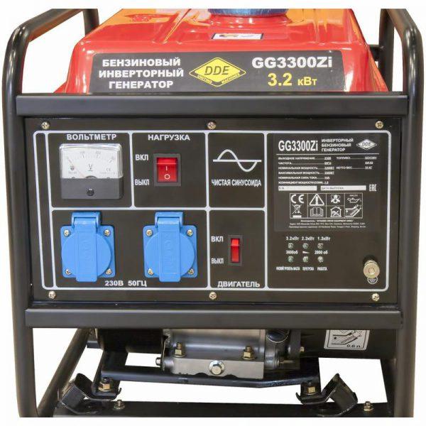 Бензиновый генератор инверторный 3 квт