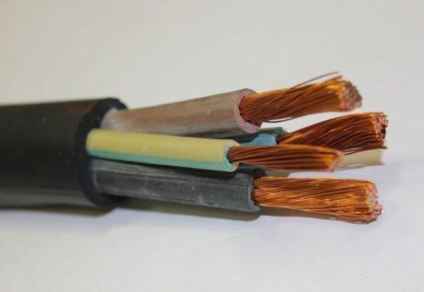 Пятижильный кабель