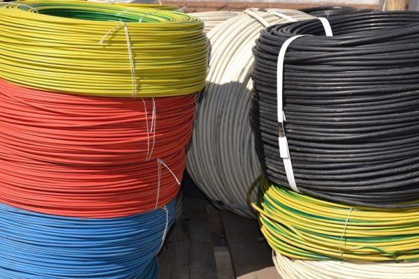 Пример упакованного пв 3 провода 1х6 в бухтах