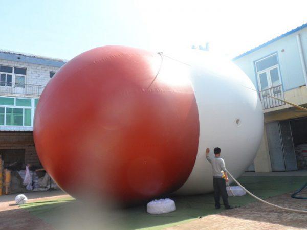 Газгольдер для хранения биогаза в виде мешка