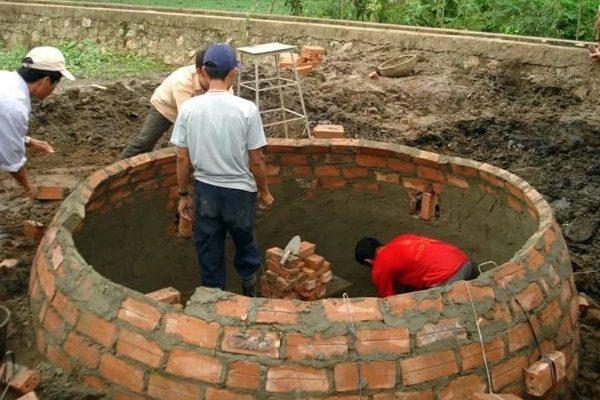 Строительство подземного биореактора