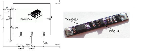 Контроллер с DW01