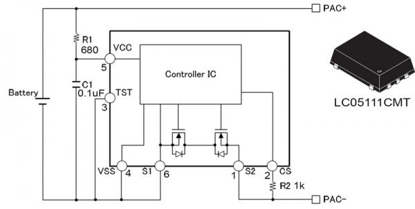 Контроллер на микросхеме с интегрированными транзисторами