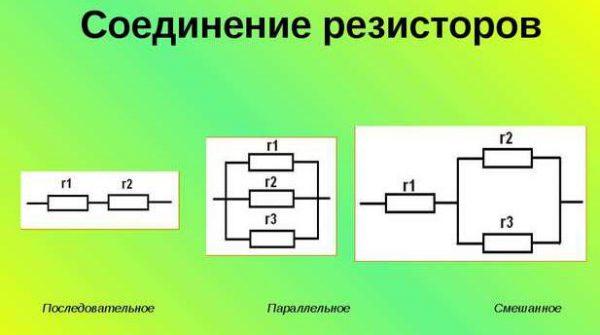 Сопряжение резисторов
