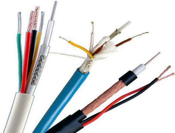 Виды кабелей систем сигнализации и управления
